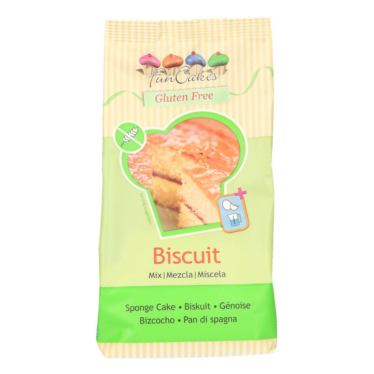 FunCakes Mix voor Biscuit, Glutenvrij 500g