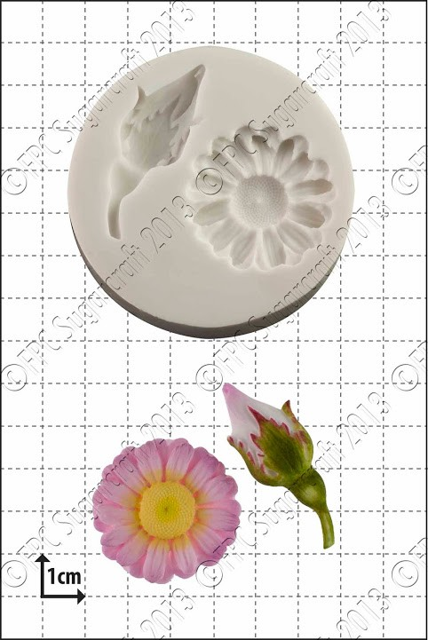 FPC Rosebud and Daisy Silicone Mould