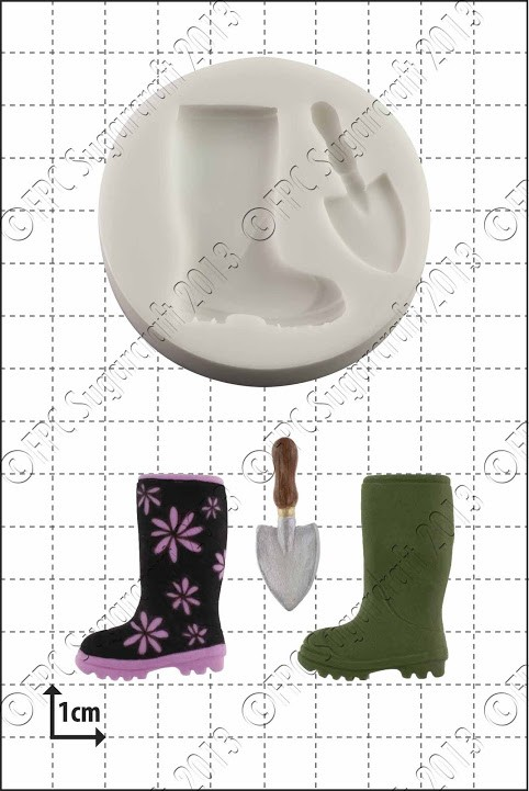 FPC Wellington Boot & Trowel Silicone Mould