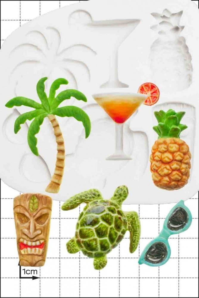 FPC 'Tropical' Silicone Mould