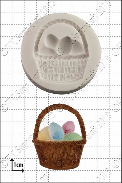FPC Easter Basket Silicone Mould