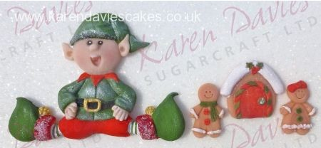 Karen Davies Sitting Elf