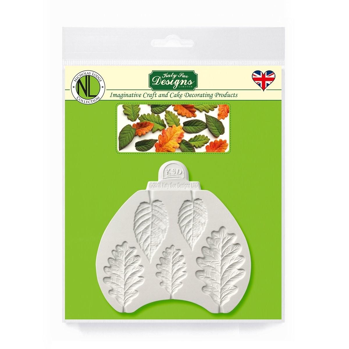 Katy Sue Designs Blackberry & Oak leaves