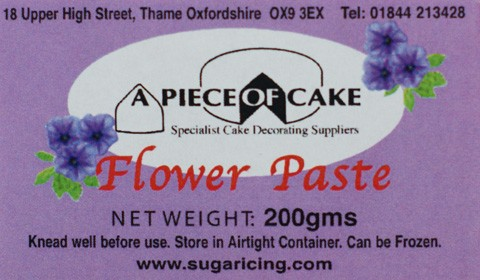 A Piece of Cake Flower Paste White 200gr