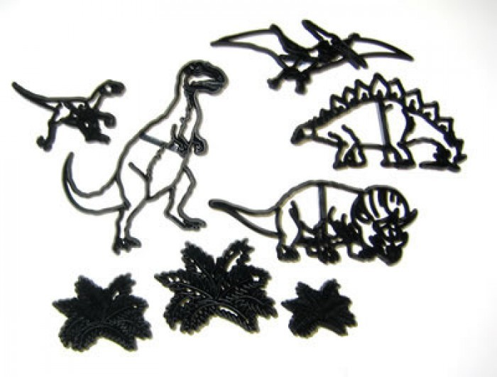 Patchwork Cutters Dinosaurus set