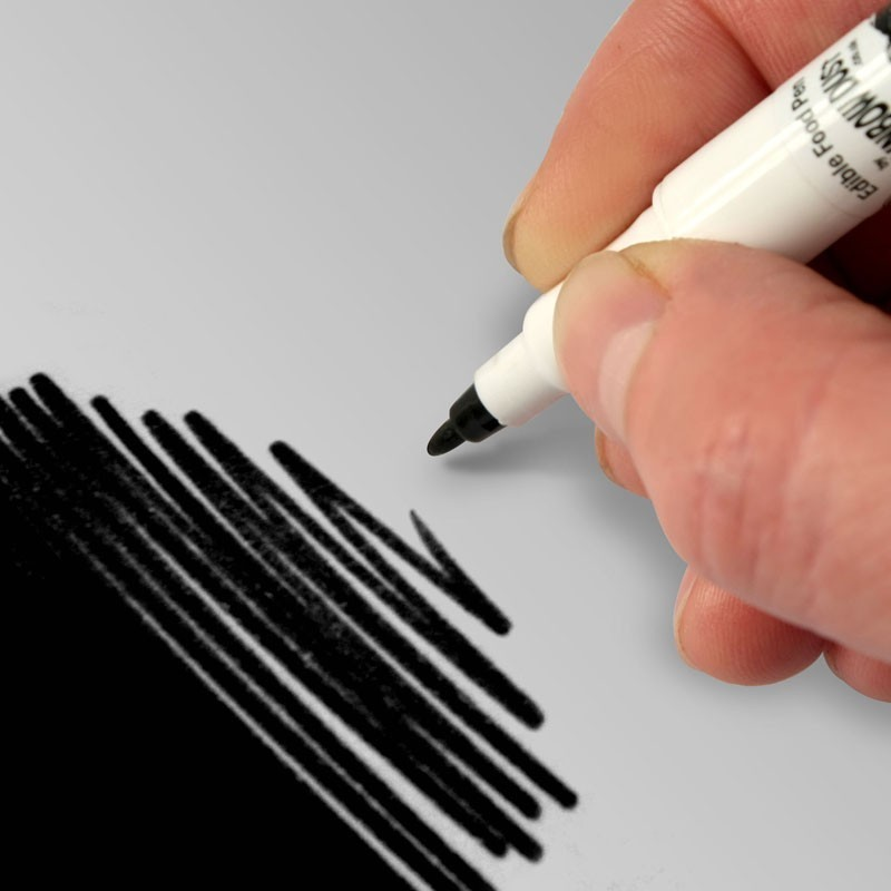 RD Food Art Pen - Jet Black