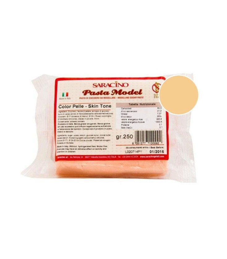 Saracino Modelleer Pasta Skin Tone - 250g