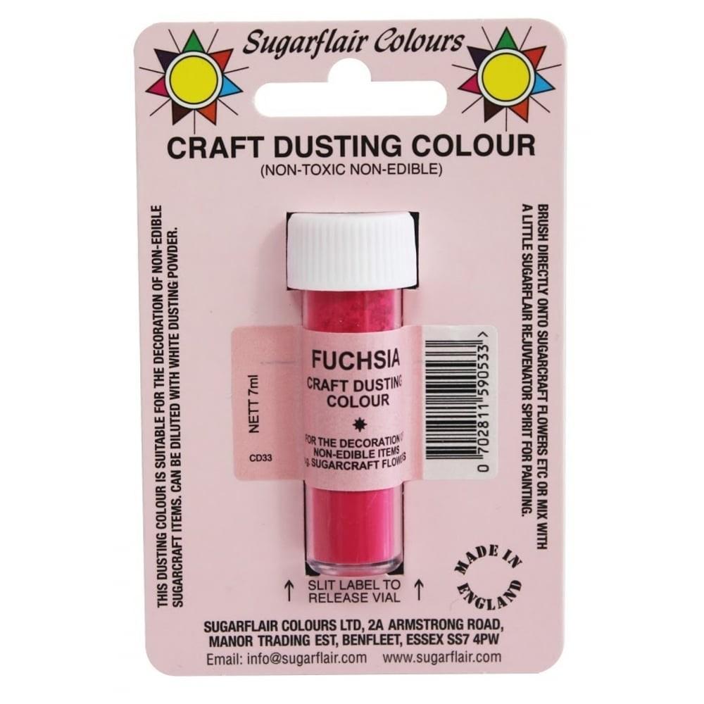 Sugarflair Craft Dusting Colour Non-Edible - Fuchsia