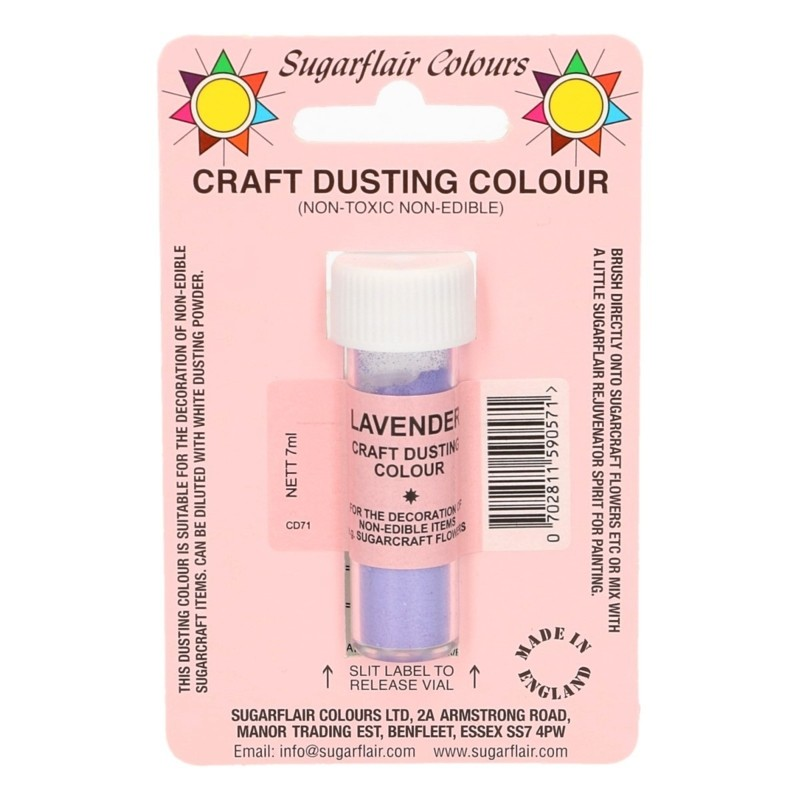 Sugarflair Craft Dusting Colour Non-Edible - Lavender