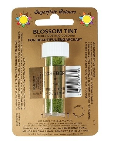 Sugarflair Blossom Tint Edible Dusting Colour - Gooseberry