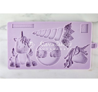 Karen Davies Unicorn Cookie Mould