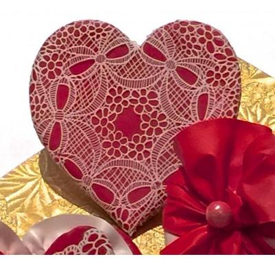 SugarVeil Circle Bouquets mat