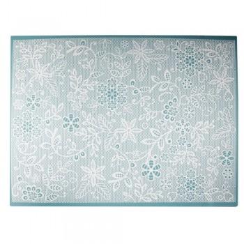Cake Lace - Floral Fern Large Mat