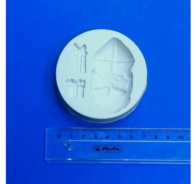 Sillicreations siliconen mal Sint