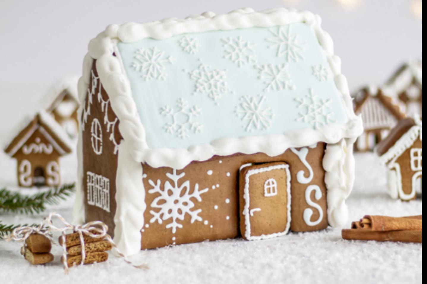 Maak je eigen peperkoekhuisje deze kerst!