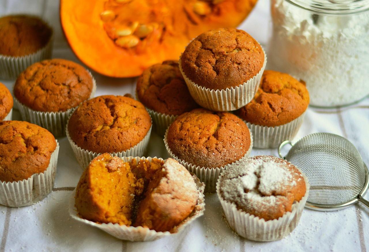 Herfstige Recepten: Pompoen Muffins